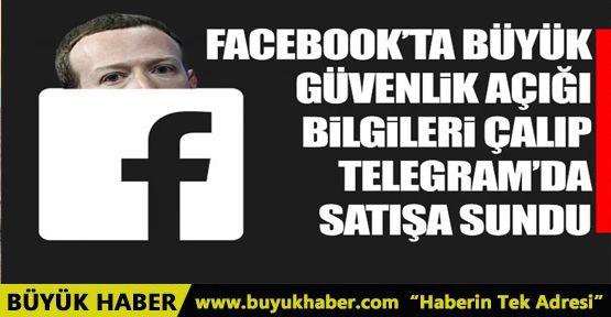 Facebook'tan çaldığı bilgileri Telegram'da satıyor