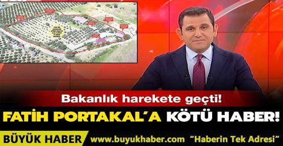 Fatih Portakal'a kötü haber! Çiftliğine diktiği kaçak yapı yıkılacak