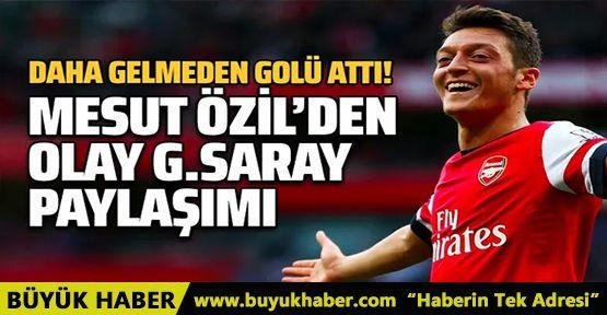 Fenerbahçe'ye transfer olan Mesut Özil'den olay Galatasaray paylaşımı!