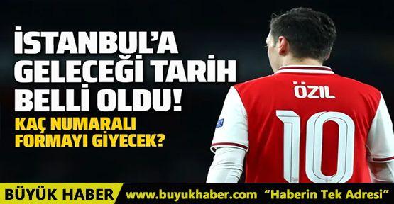 Fenerbahçe'ye transfer olan Mesut Özil'in İstanbul'a ne zaman geleceği belli oldu!