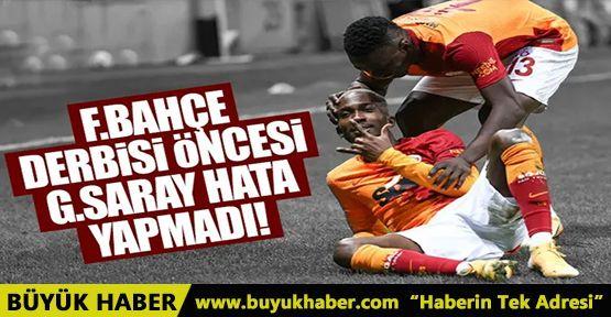 Galatasaray, Başakşehir'i darmadağın etti!