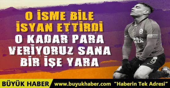 Galatasaray Başkan Yardımcısı Falcao'yu topa tuttu