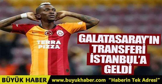 Galatasaray'ın transferi Onyekuru İstanbul'a geldi!