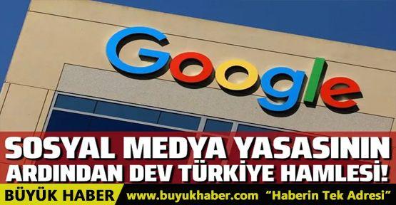Google'dan dev Türkiye adımı