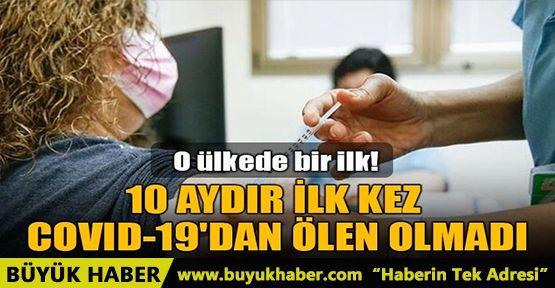 İSRAİL'DE 10 AYDAN SONRA İLK KEZ CORONAVİRÜS'TEN ÖLEN OLMADI!