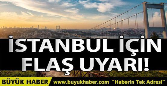 İstanbul için yüksek sıcaklık uyarısı!