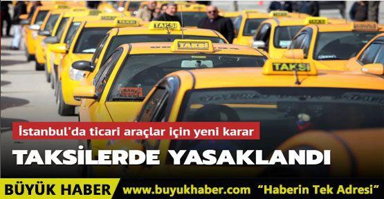 İstanbul'da taksi ve taksi dolmuşlara cam filmi yasağı geldi
