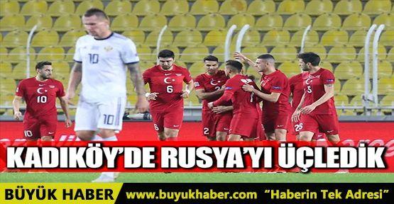 Kadıköy'de Rusya'yı üçledik!