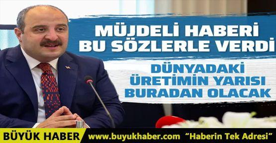 Mustafa Varank'tan ekonomi için güzel haber
