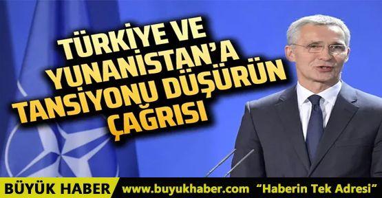 NATO'dan Türkiye ve Yunanistan'a özel mesaj! Tansiyonu düşürelim