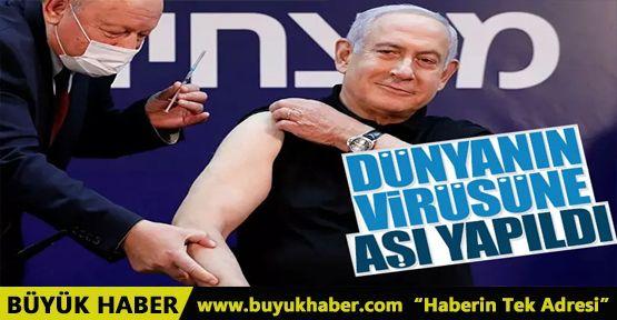 Netanyahu, koronavirüs aşısı oldu