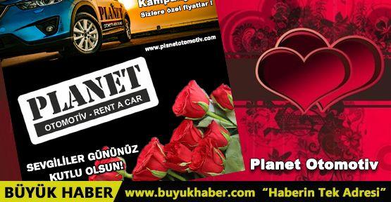 Planet Otomotiv Sevgililer Gününü Kutlar