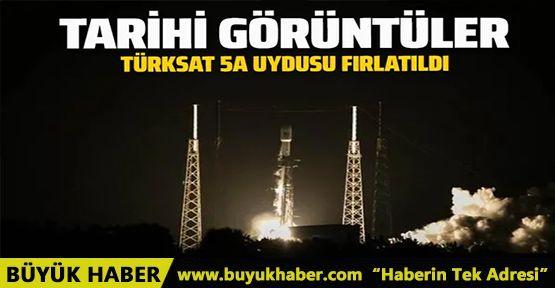 Tarihi görüntüler! Türksat 5A uydusu uzaya fırlatıldı