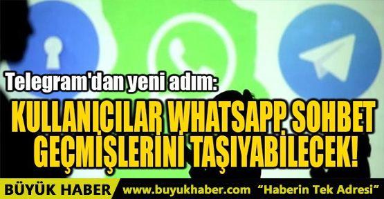 TELEGRAM'DAN YENİ ADIM