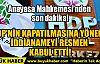 HDP'NİN KAPATILMASINA YÖNELİK İDDİANAMEYİ RESMEN KABUL ETTİ