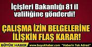 ÇALIŞMA İZİN BELGELERİNE İLİŞKİN...