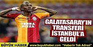 Galatasaray'ın transferi Onyekuru İstanbul'a...