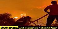 İbrahim Çelikkol da yangınla mücadeleye...