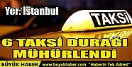 İSTANBUL'UN ESENYURT İLÇESİNDE 6 TAKSİ...