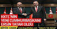 KKTC'nin yeni Cumhurbaşkanı Ersin Tatar...