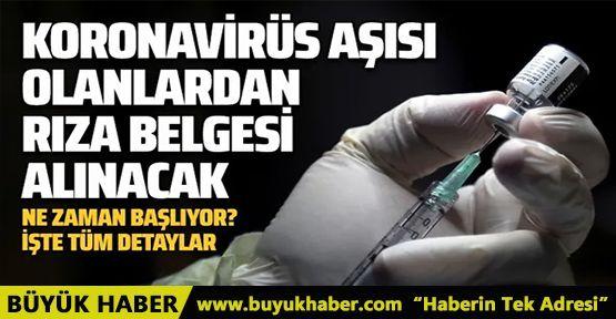 Türkiye'de aşılama ne zaman başlıyor?