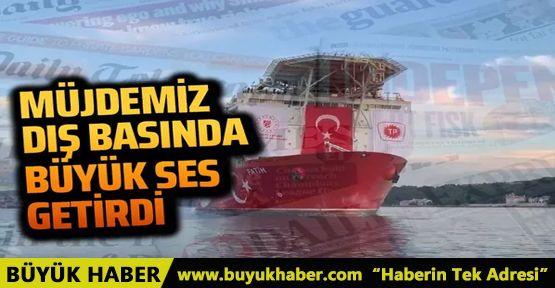 Türkiye'nin doğalgaz keşfi dış basına böyle yansıdı