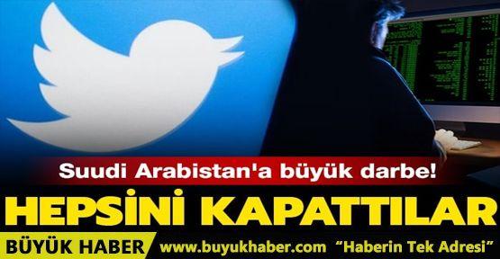 Twitter'dan Suudi Arabistan'a büyük darbe!