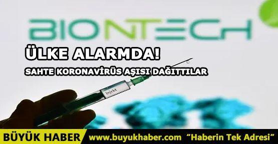Ülke alarmda! Sahte koronavirüs aşısı dağıttılar
