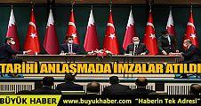 Türkiye ile Katar arasında 10 yeni tarihi anlaşma imzalandı