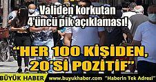 HER 100 KİŞİDEN, 20'Sİ POZİTİF