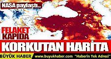 NASA Türkiye'nin kuraklık haritasını yayımladı