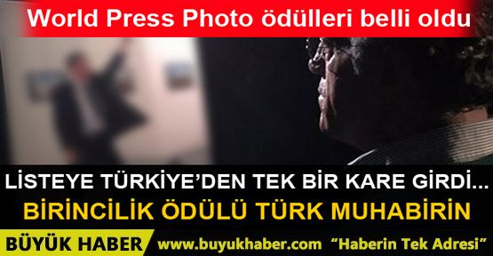 World Press Photo ödülü ikinci kez bir Türk'ün oldu