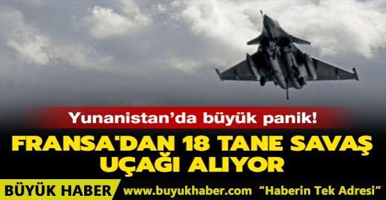 Yunanistan'da büyük panik: Fransa'dan 18 tane savaş uçağı alıyor