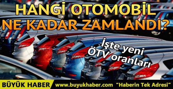 Zamlı ÖTV nedeniyle otomobillere gelen fiyat artışını Maliye Bakanı açıkladı